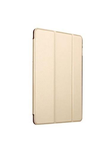 Microsonic Apple iPad 10.2'' 7. Nesil (A2197-A2200-A2198) Smart Case ve arka Kılıf Gold Altın